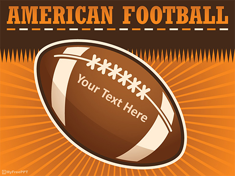 Free American Football Powerpoint Template - Download Free