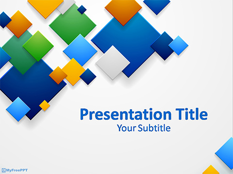 Free Business Abstract Background PowerPoint Template - Download