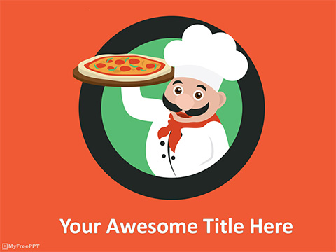Free Chef PowerPoint Template - Download Free PowerPoint PPT