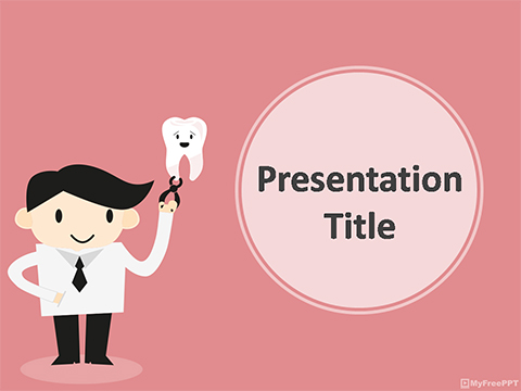 Free Dentist PowerPoint Template - Download Free PowerPoint PPT