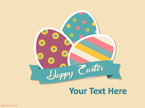 Free Easter Eggs PowerPoint Template - Download Free PowerPoint PPT