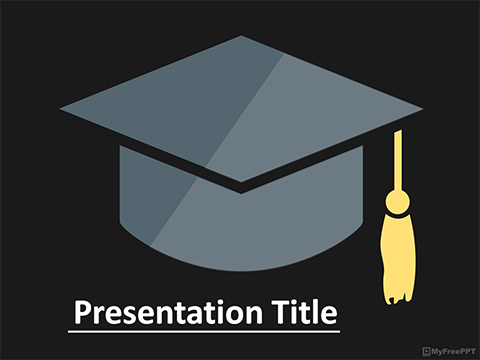 Free Graduation PowerPoint Template - Download Free PowerPoint PPT