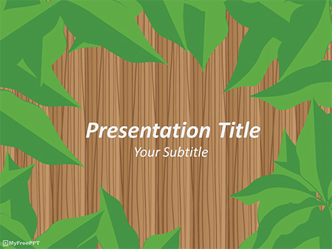 Free Jungle Safari PowerPoint Template - Download Free PowerPoint PPT