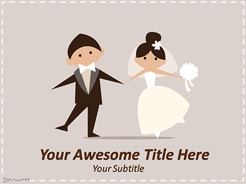 Free Marriage PowerPoint Template - Download Free PowerPoint PPT