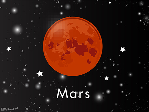 Free Mars PowerPoint Template - Download Free PowerPoint PPT