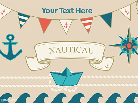 Free Nautical PowerPoint Templates - MyFreePPT - navy powerpoint templates