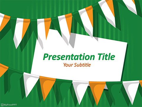 Free Indian Republic Day PowerPoint Template - Download Free