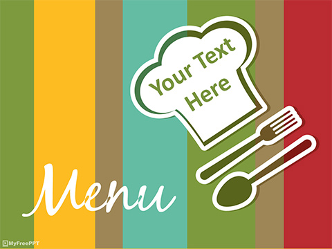 Free Restaurant Menu PowerPoint Template - Download Free PowerPoint PPT