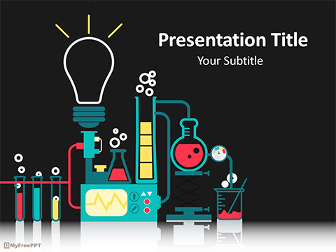Free Science Laboratory PowerPoint Template - Download Free - science presentation template