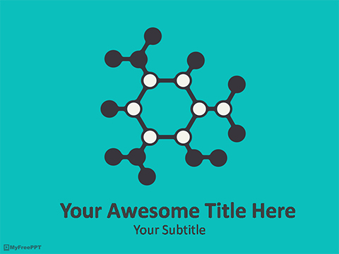 Free Science Molecules PowerPoint Template - Download Free - science powerpoint template