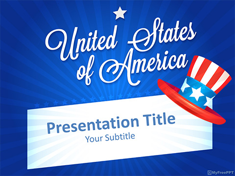Free 4th of july PowerPoint Templates - MyFreePPT
