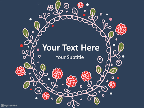 Free Flowers PowerPoint Templates, Themes  PPT - free slide backgrounds for powerpoint