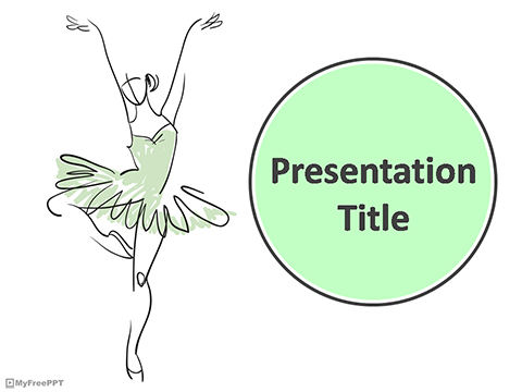 Free Ballet Dance PowerPoint Template - Download Free PowerPoint PPT