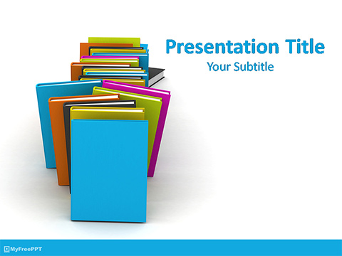 Free Books PowerPoint Templates - MyFreePPT - powerpoint books