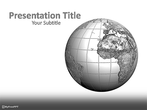 Free Global PowerPoint Templates - MyFreePPT - global powerpoint template
