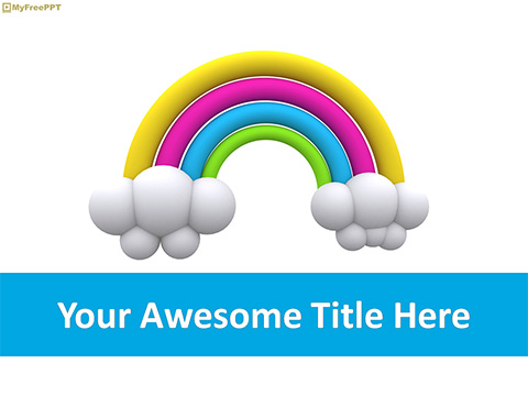 Free Rainbow PowerPoint Template - Download Free PowerPoint PPT
