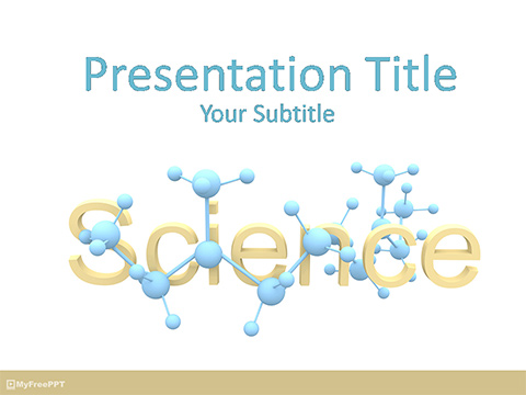 Free Science PowerPoint Templates, Themes  PPT - scientific ppt background
