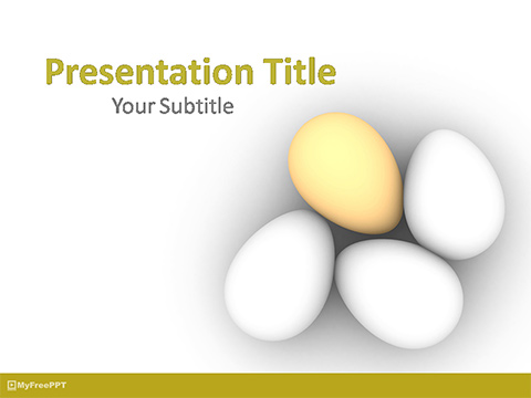 Free Eggs PowerPoint Template - Download Free PowerPoint PPT