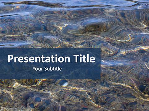 Free Water PowerPoint Templates - MyFreePPT - water powerpoint template