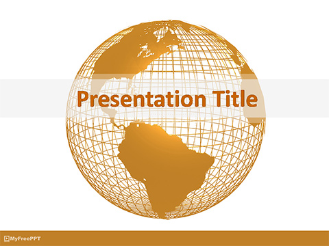 Free Global PowerPoint Templates, Themes  PPT - global powerpoint template