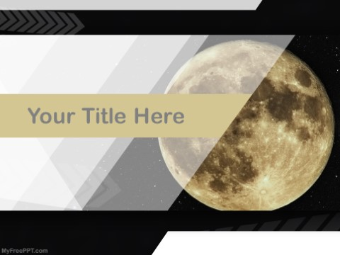 Free astronomy PowerPoint Templates - MyFreePPT