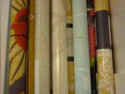 Fabric Wallpaper: Wallpaper Rolls