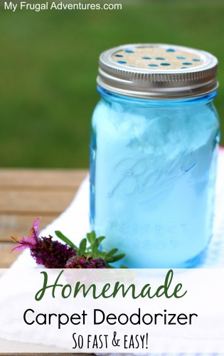 Homemade Carpet Deodorizer {So Fast & Easy!} - My Frugal Adventures