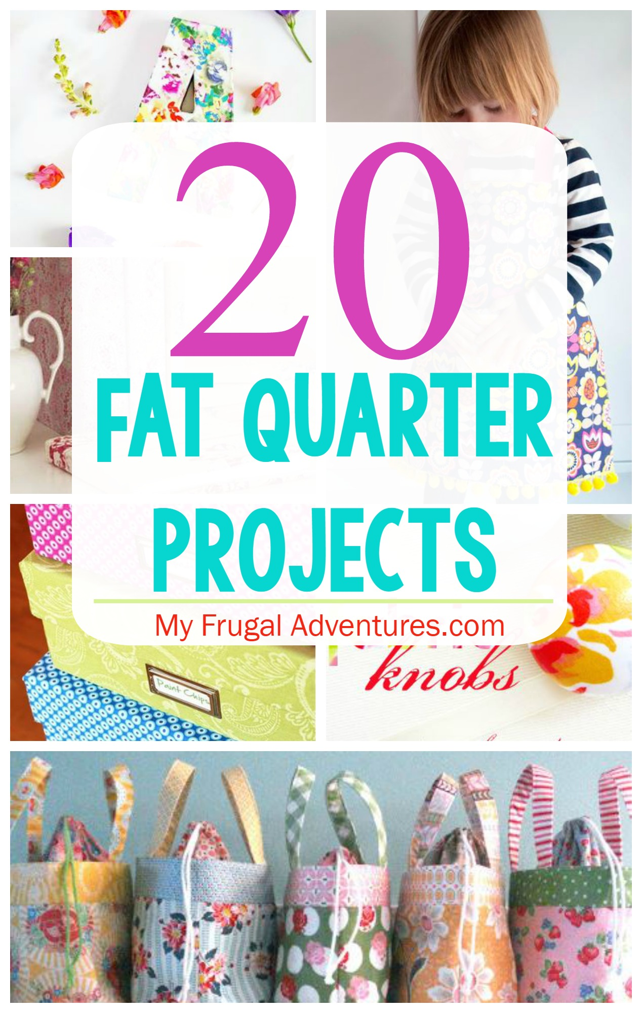 Diy Fat Quarter Projects 20 Projects To Use Fat Quarters My Frugal Adventures