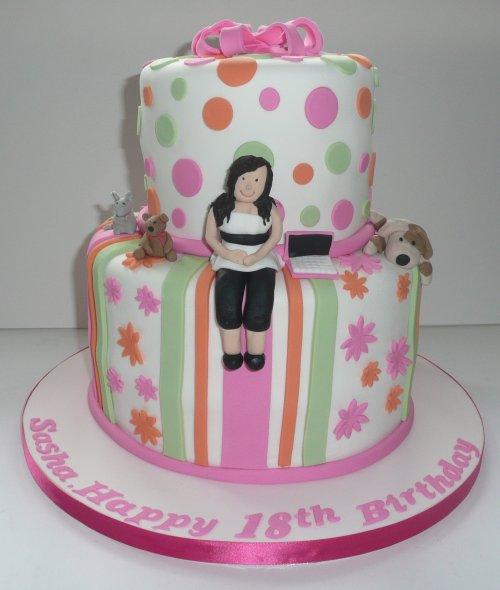 Medium Of Birthday Cakes For Girls