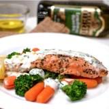 [NEW RECIPE] Pan-Seared Salmon with Filippo Berio Olive Oil and Yogurt Dressing