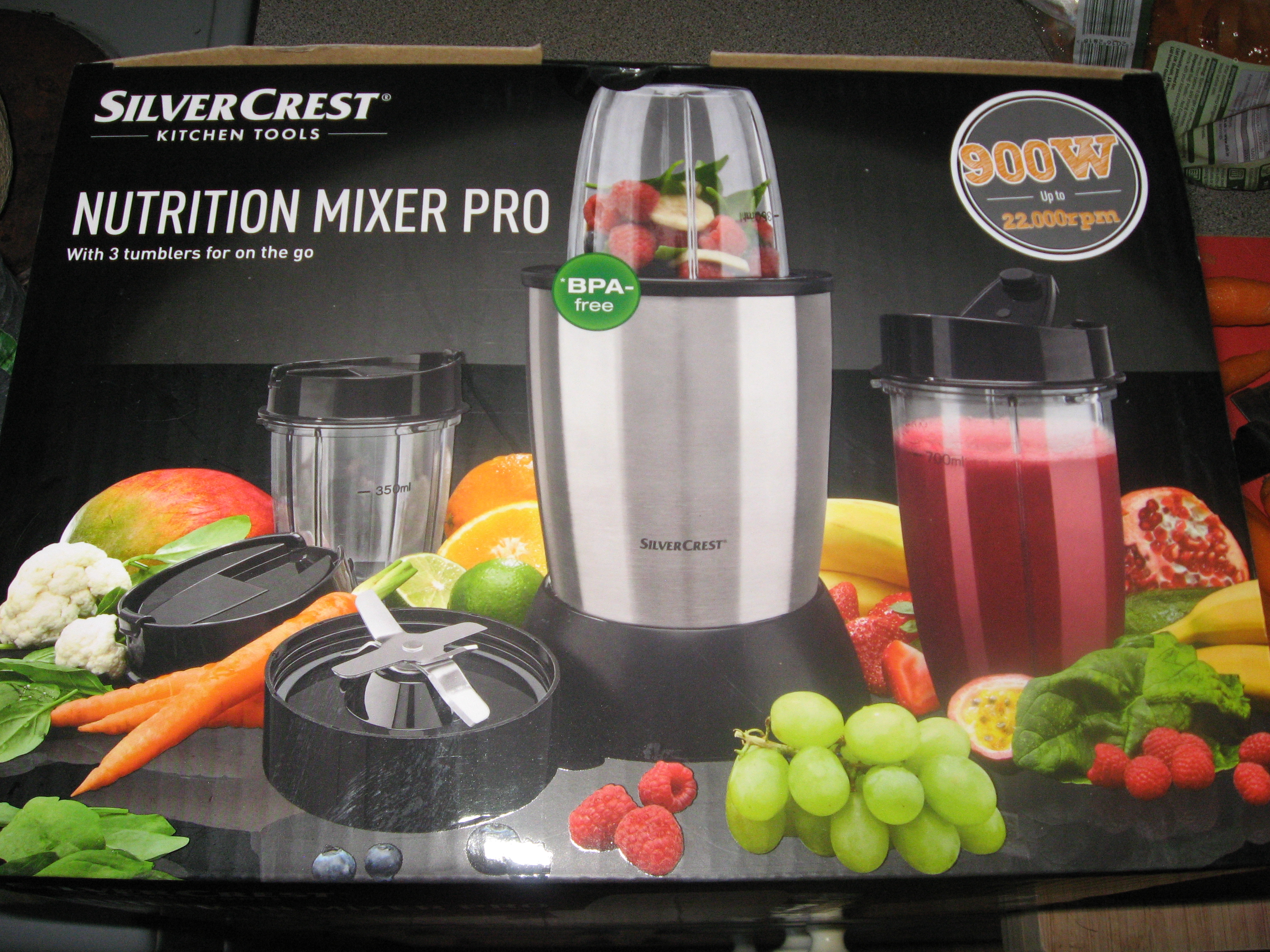 Lidl Silvercrest Nutrition Mixer Review The 30 Nutribullet Dupe Me And My Funky Afro