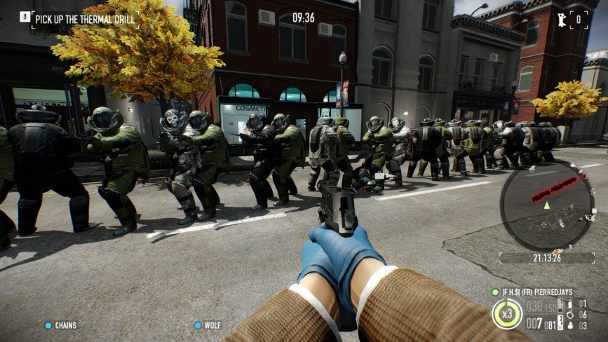 Police Officer Wallpaper Hd Payday 2 Crimewave Edition Review Ps4