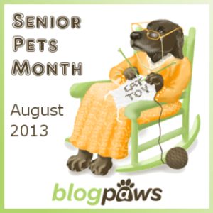 senior pets badge