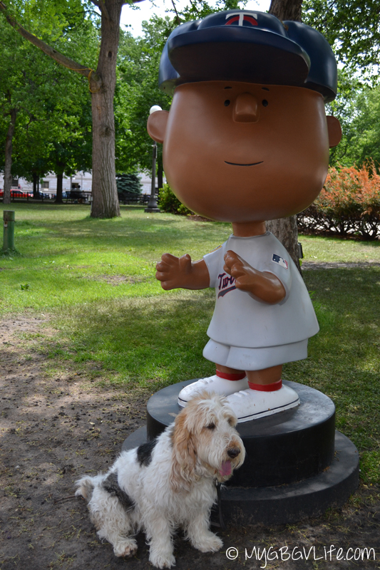 My GBGV Life Emma with Peanuts 2014 All Star Peanuts figure Franklin