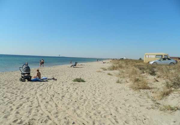 Пляжи Евпатории фото