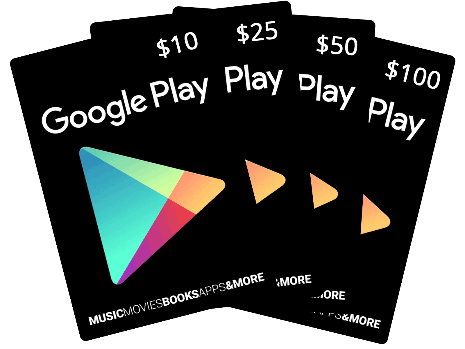 Email Gift Vouchers Google Play Cards