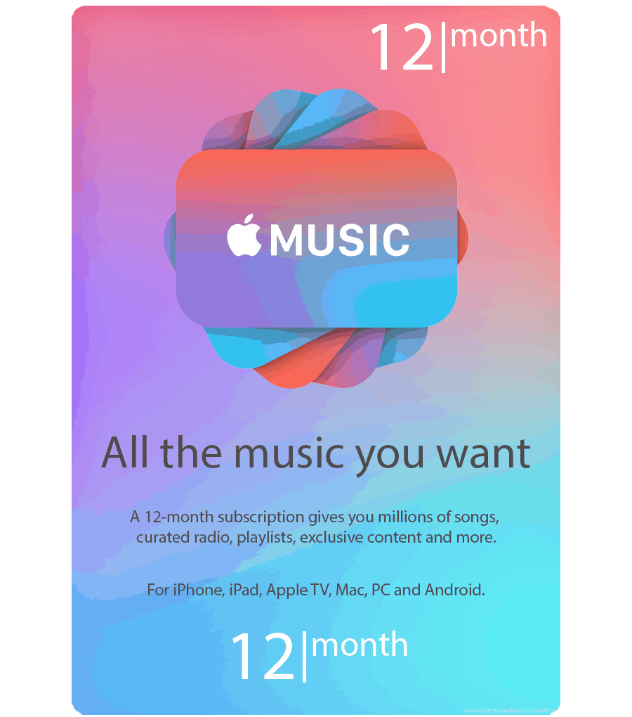 Email Gift Vouchers Us Apple Music Gift Cards