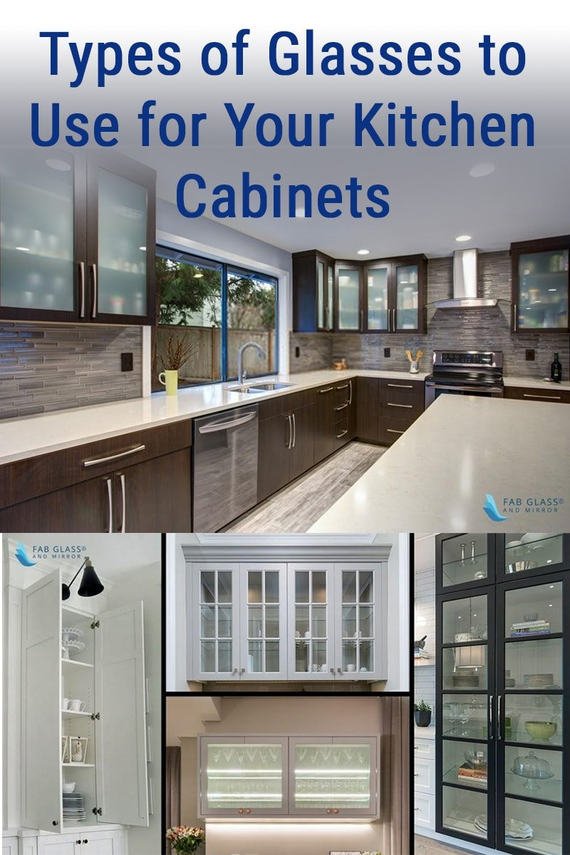 Types Of Glasses To Use For Your Kitchen Cabinets