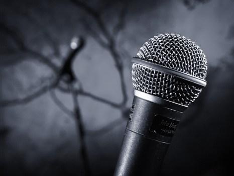 john henry on the mic