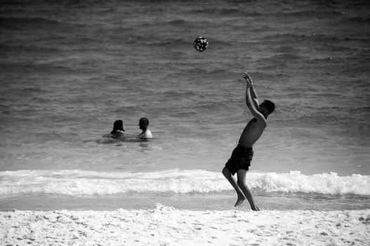 destin beach volleyball