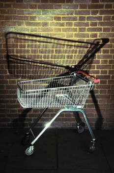 just a shopping trolley