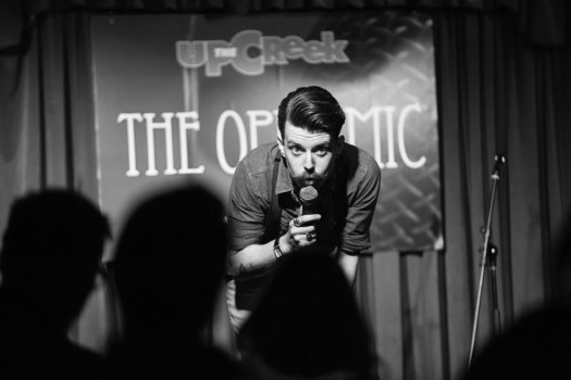 Paul Sweeney at Up The Creek Comedy Club