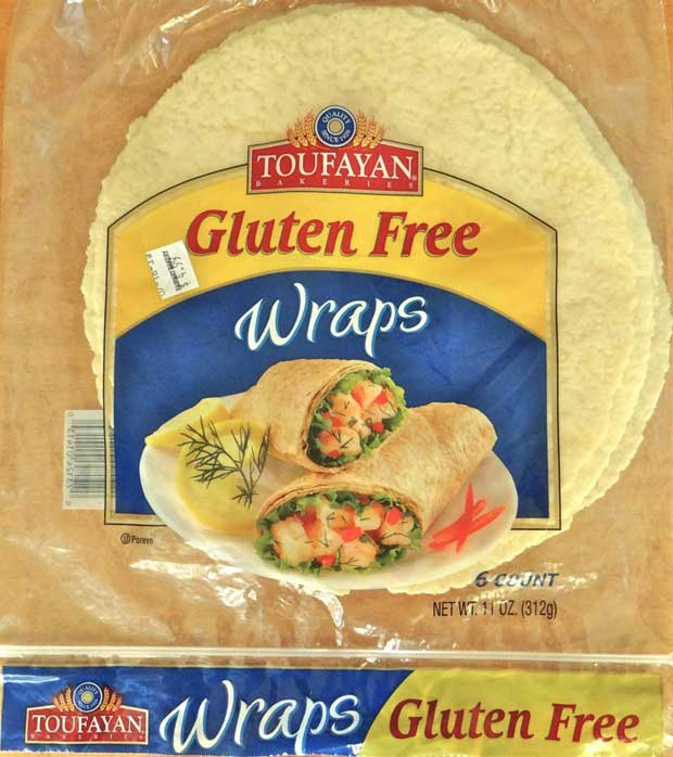 Gluten free wraps from toufayan bakeries gluten free for Table 52 gluten free