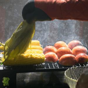 Grilled Peach Salsa