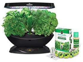 Miracle-Gro AeroGarden 7 LED Indoor Garden with Gourmet Herb Seed Kit