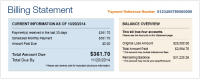 Your Great Lakes Monthly Billing Statement