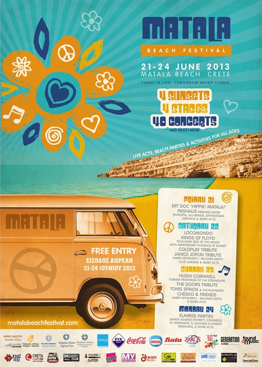 Matala Kreta Hippie Crete's Matala Beach Festival On This Weekend | My Greece