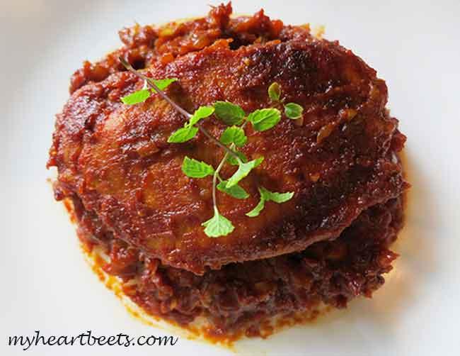 Paleo Indian Pork Chops