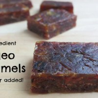 2-Ingredient Paleo Caramel Candy