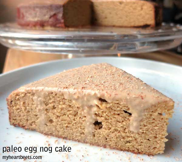 Paleo Banana-Nog Cake